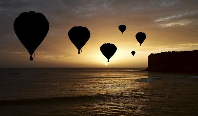 Heißluftballonfahrt in Geiseltalsee
