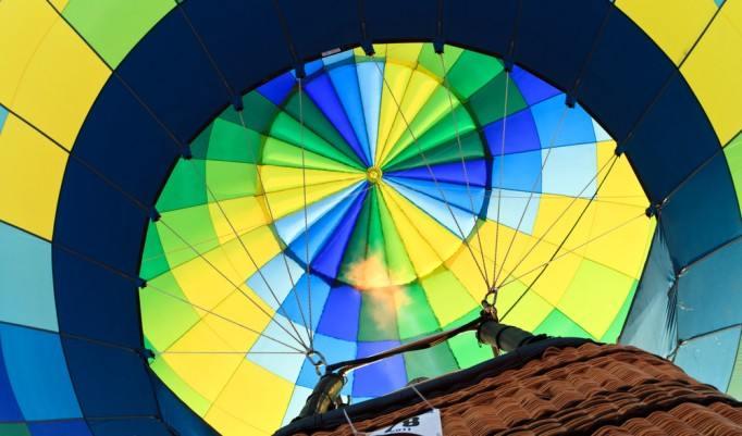 Heißluftballonfahrt in Kulmbach