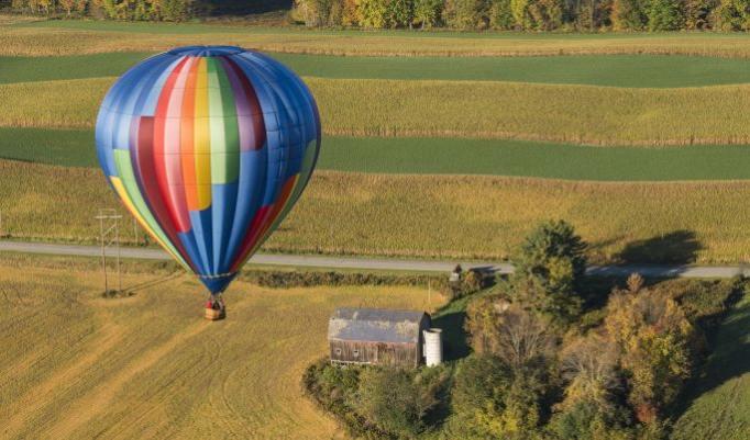 Gutschein für Ballonfahrt für zwei Personen online kaufen