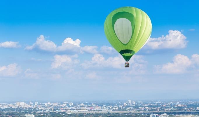 Ballonfahrt in München