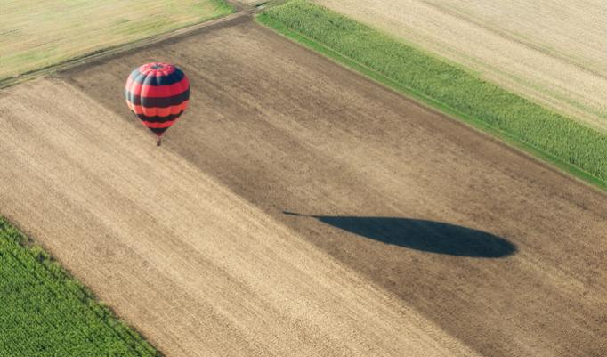 Sanfte Ballonfahrt für Zwei verschenken