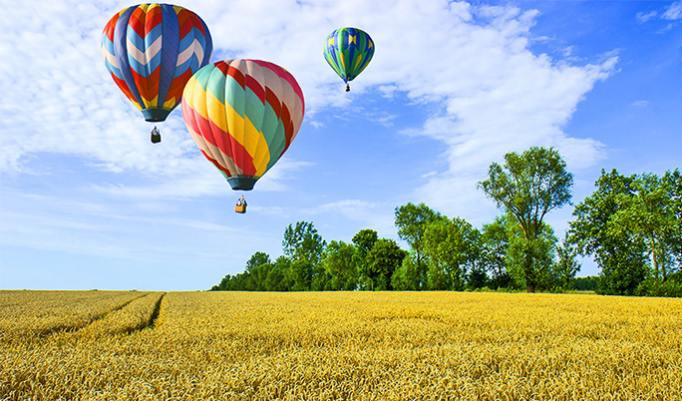 Ballonfahrt in Bad Salzungen