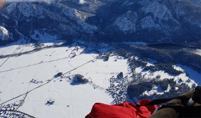 Gutschein für Alpenballonfahrt in Reutte
