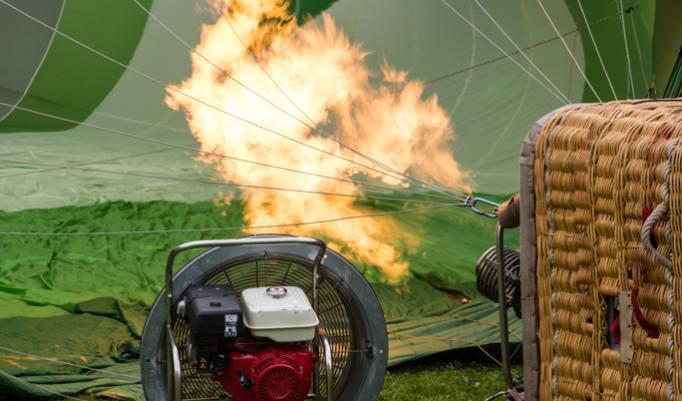 Heißluftballonfahrt in Illingen