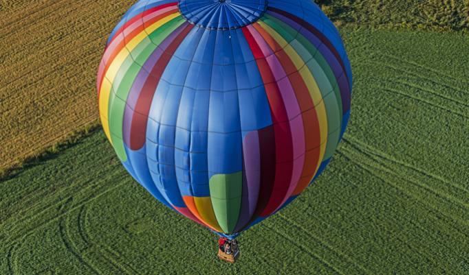 Exklusive Ballonfahrt für ein Paar verschenken