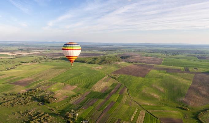 Gutschein zum Heißluftballon fliegen Neumünster