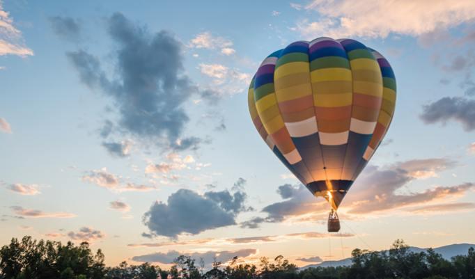Heißluftballonfahrt in Eisenhüttenstadt