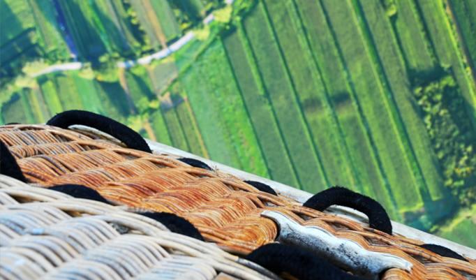 Heißluftballonfahrt in Grafing