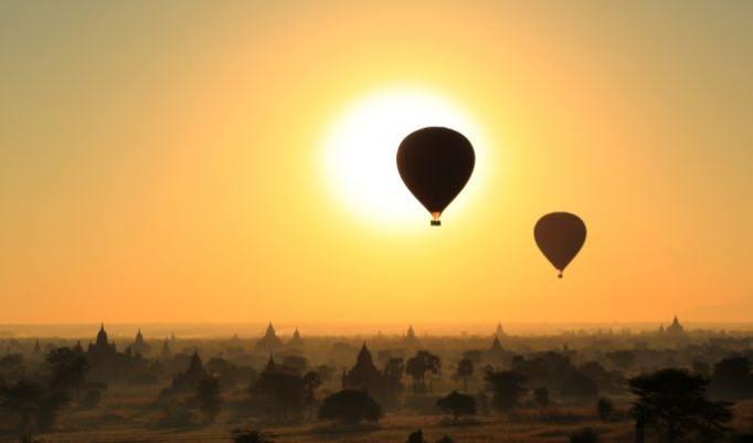 Gutschein verschenken für Ballonfahrt in NRW