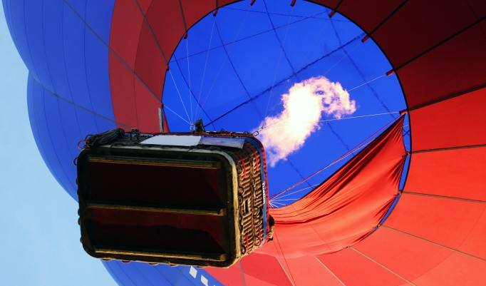Heißluftballonfahrt in Oyten