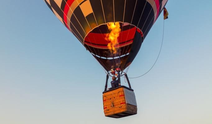 Ballonfahrt in der Region Rhön