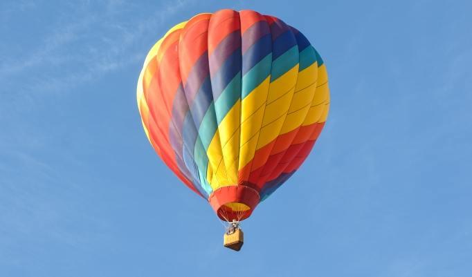 Ballonfahrt in Lübeck