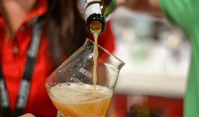 Bier Verköstigung