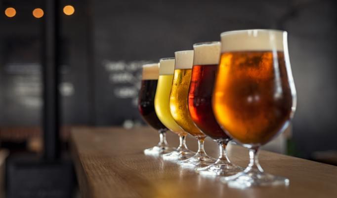 Craft Beer Auswahl