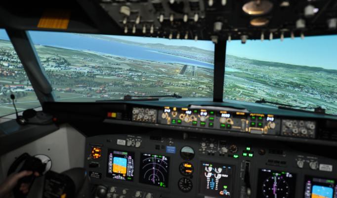 Flugsimulator Boeing 737 in Wien
