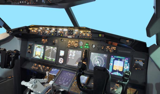 Gutschein für einen Simulationsflug im Flugsimulator Boeing 737 in der Region Köln