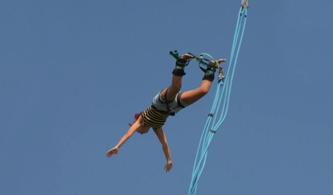 Bungee Jumping in Erfurt