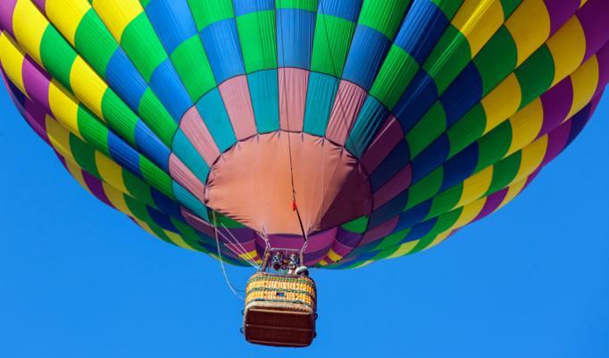 Heißluftballonfahrt in Halle