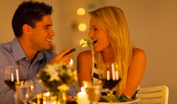Romantische Atmosphäre