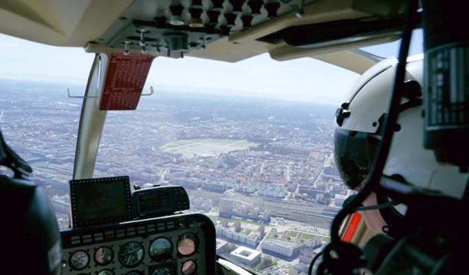 Hubschrauber selber fliegen in Bayreuth