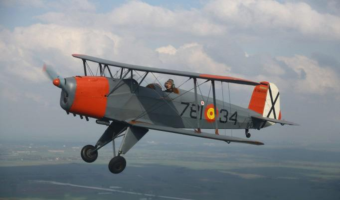 Boeing Stearman in der Luft