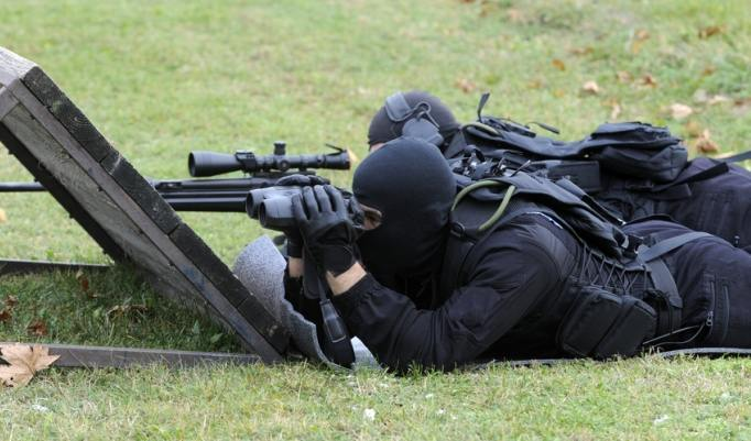 SWAT Fernschusstraining