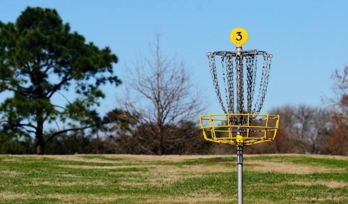 Teamevent Frisbee Golf