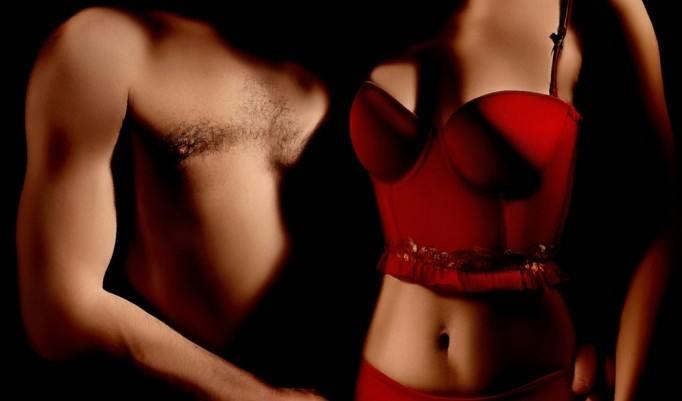 Erotisches Paarfoto