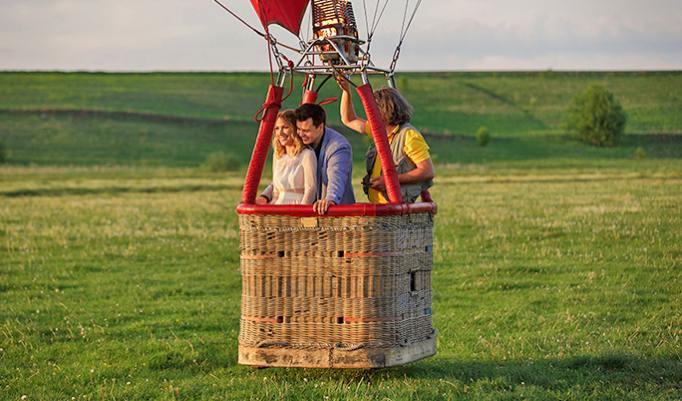Gutschein Ballonfahrt auf Rügen