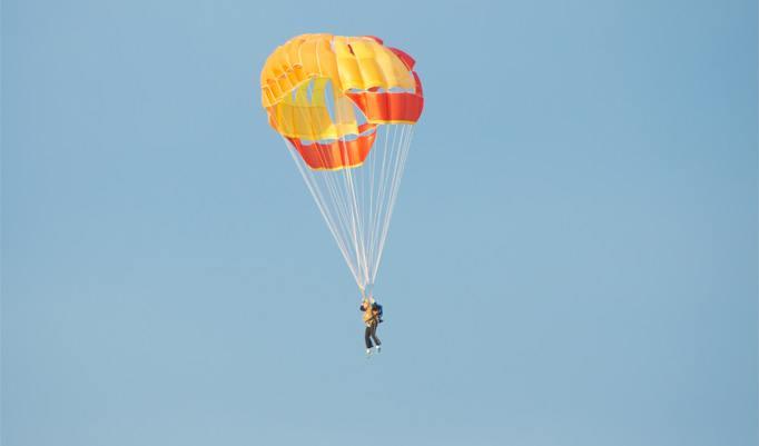 Fallschirm Tandemsprung aus 6km Höhe in Zweibrücken