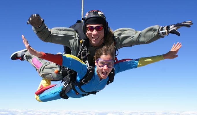 Gutschein für Fallschirmspringen in Meißendorf