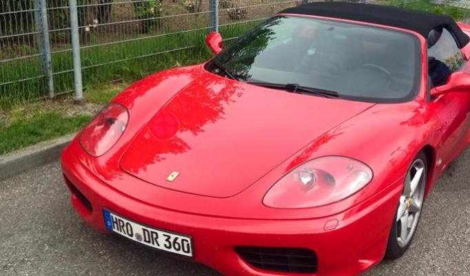 Ferrari fahren in Frankfurt
