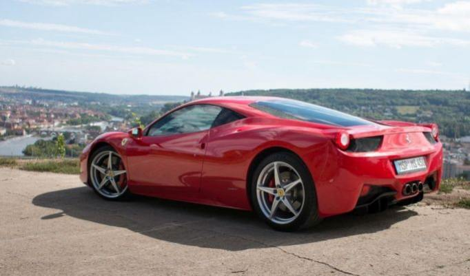Ferrari Rundfahrt