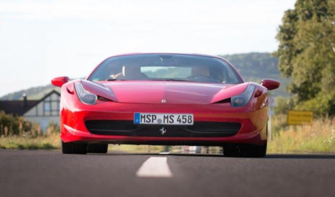 Ferrari 458 Rundfahrt
