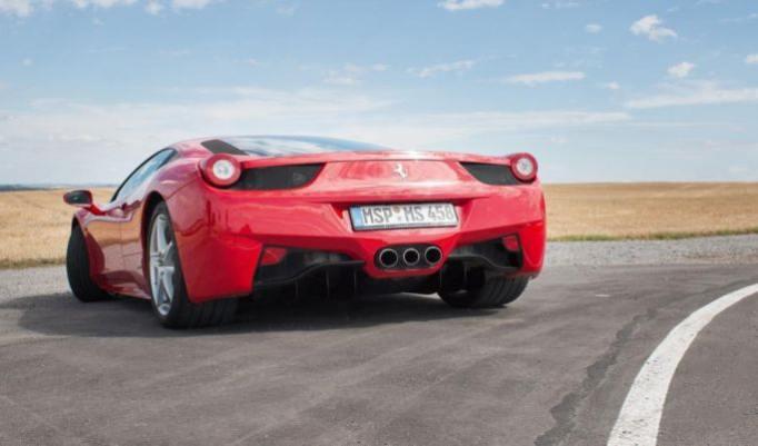 Ferrari 458 Italia fahren