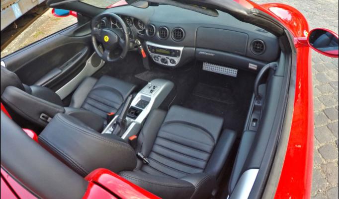 Ferrari 360 selber fahren in Berlin - 30 Minuten
