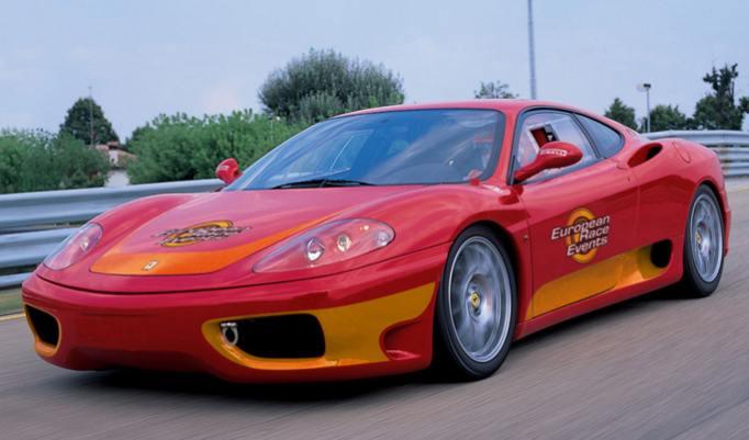 Ferrari F360 selber fahren in Dresden
