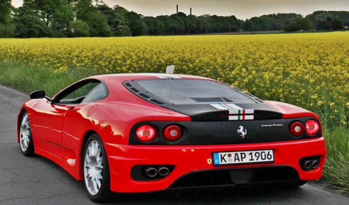 Ferrari 360 F1 Renntaxi - 60 Minuten in Köln