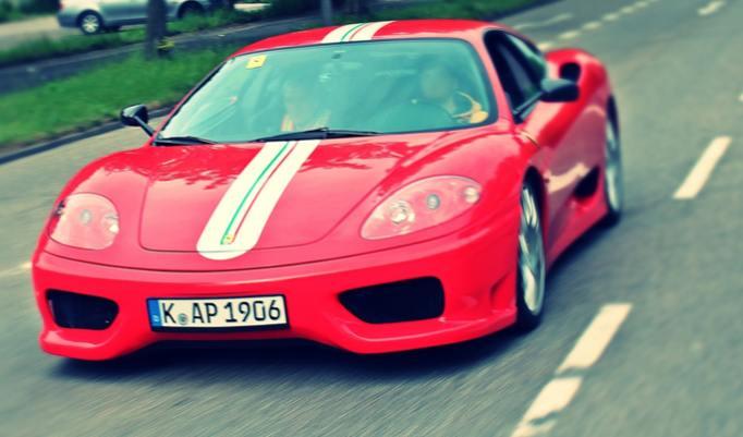 Ferrari 360 F1 Renntaxi 30 Minuten im Raum Köln