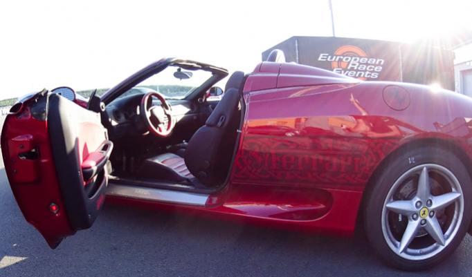 Ferrari F360 Spider fahren in Düsseldorf