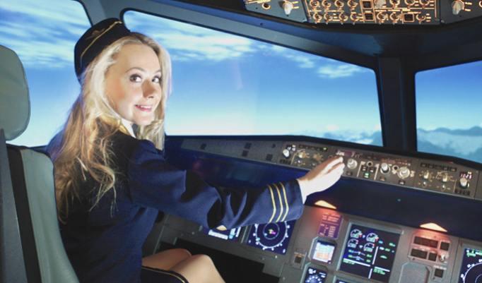 Flugsimulator Airbus für 30 Minuten in Berlin