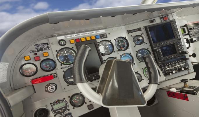 Steuervorrichtung Flugsimulator Cockpit