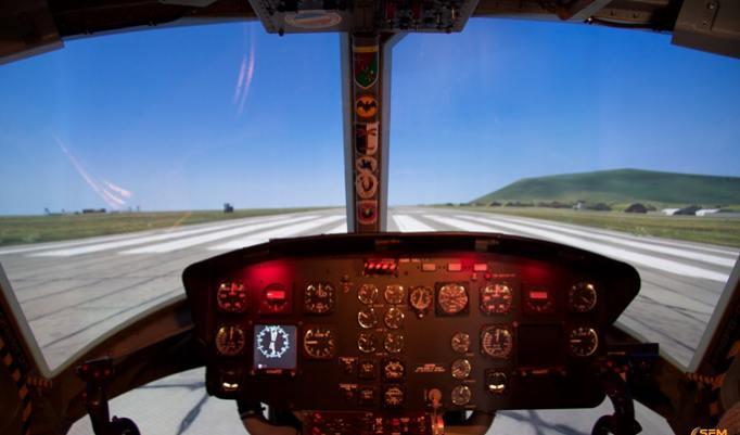 Simulator Bell UH-1 Huey