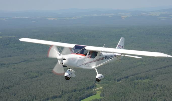 Flugzeug selber fliegen in der Region Breitscheid
