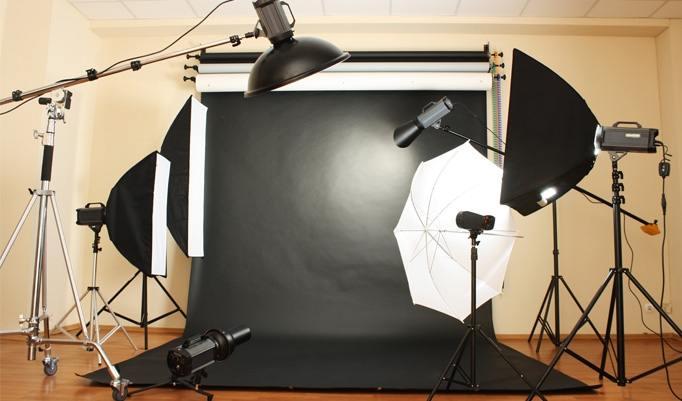 Ausrüstung beim Premium Fotoshooting