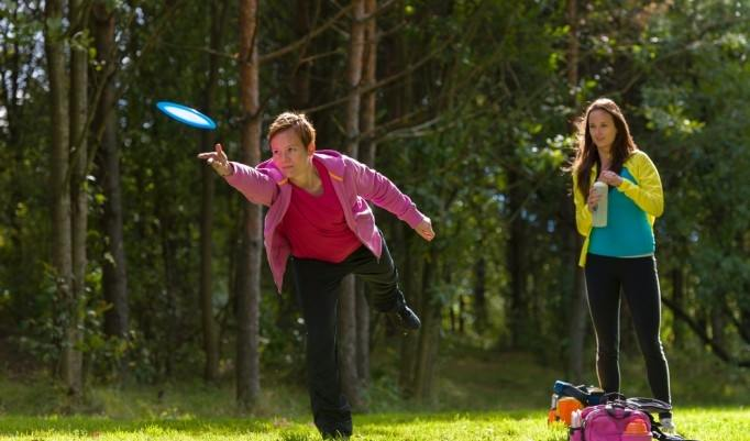 Frisbee Golf Turnier