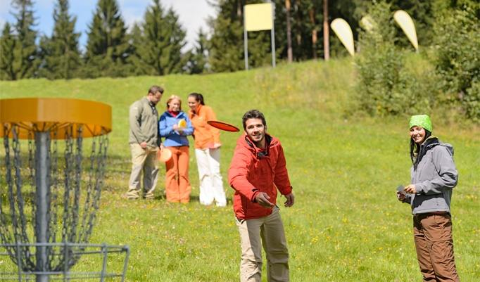Frisbee Gruppenevent
