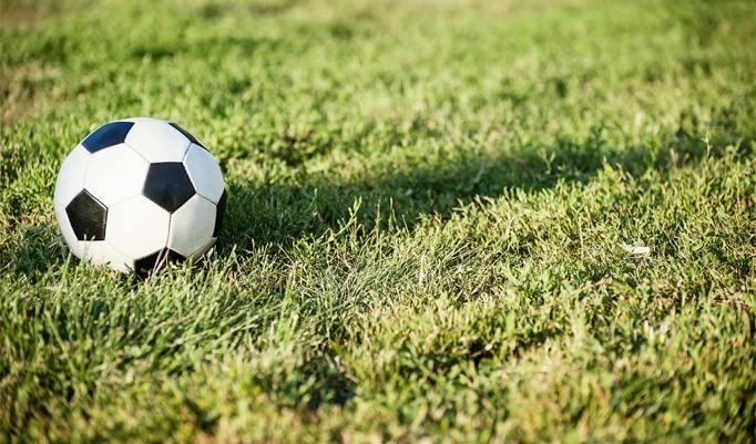 Fußball beim Fußballgolf