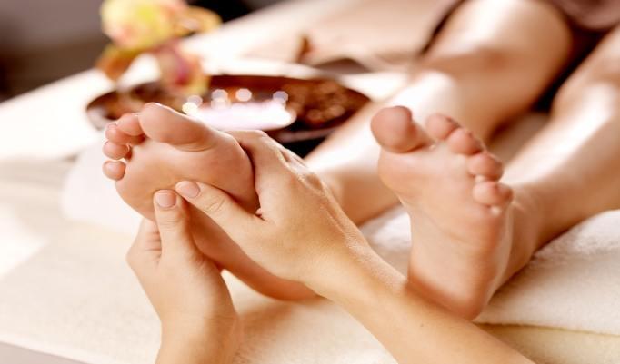 Entspannende und heilende Fußmassage in Leipzig