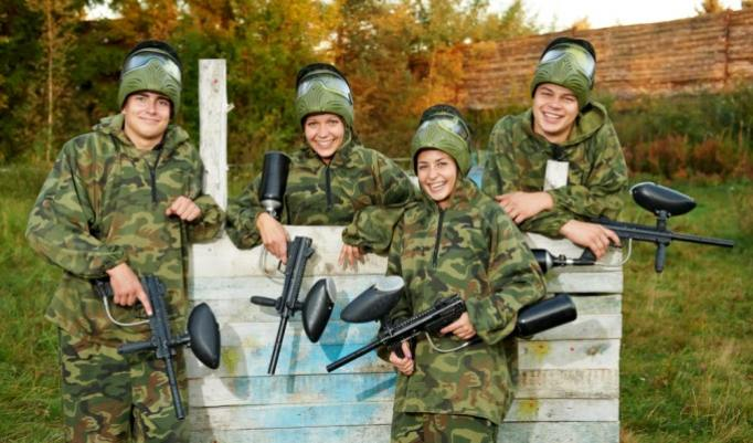 Paintball in Fürstenau
